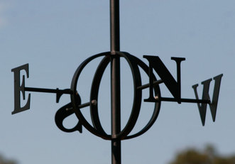 custom made metal art weather vane (wind vane)